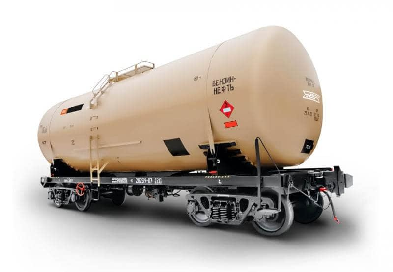 Типы цистерн для перевозки нефти